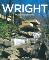 Cover image for Frank Lloyd Wright, 1867-1959 : building for democracy