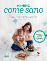 Cover image for Mi niño come sano