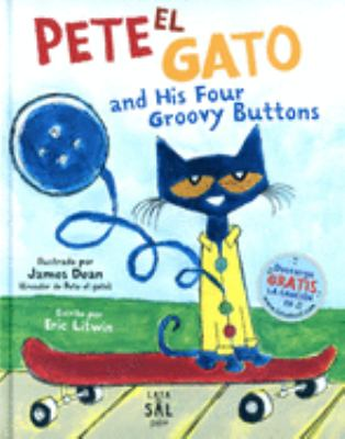 Cover image for Pete el gato and his four groovy buttons