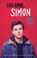 Cover image for Con amor, Simon