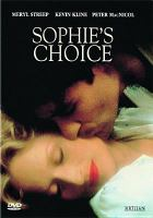Cover image for Sophie's choice