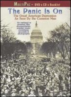 Cover image for The panic is on the great American depression as seen by the common man.