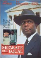 Cover image for Separate but equal