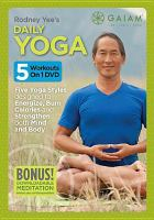 Cover image for Rodney Yee's daily yoga