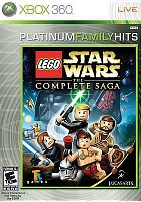 Cover image for Lego Star wars. The complete saga.