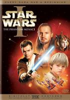 Cover image for Star wars. Episode I, The phantom menace