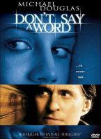 Cover image for Don't say a word
