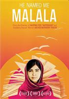 Cover image for He named me Malala