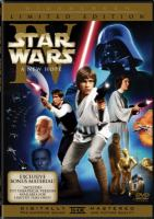 Cover image for Star wars. Episode IV, A new hope