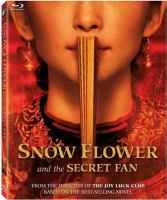 Cover image for Snow flower and the secret fan