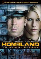 Cover image for Homeland. The complete first season.