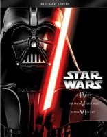 Cover image for Star wars : IV, a new hope ; V, the Empire strikes back ; VI, return of the Jedi.