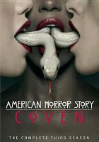 Cover image for American horror story. The complete third season, Coven