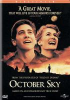 Cover image for October sky