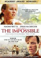 Cover image for Lo imposible  = The impossible