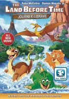 Cover image for The land before time : journey of the brave