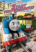 Cover image for Thomas & friends. Start your engines!