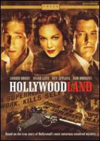 Cover image for Hollywoodland