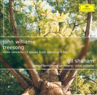 Cover image for Treesong Violin concerto ; 3 pieces from Schindler's list