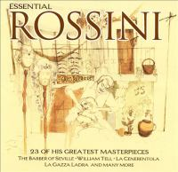 Cover image for Essential Rossini 23 of his greatest masterpieces.