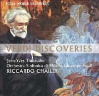 Cover image for Verdi discoveries.