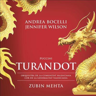 Cover image for Turandot