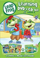 Cover image for LeapFrog. Learning DVD + CD set. Volume 2.