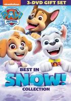 Cover image for PAW patrol. Best in snow! collection