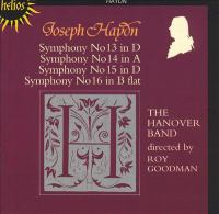 Cover image for Symphonies 13, 14, 15, 16