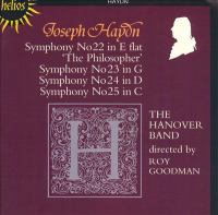 Cover image for Symphonies 22, 23, 24, 25
