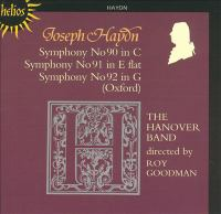 Cover image for Symphonies 90, 91, 92