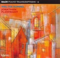 Cover image for Bach piano transcriptions. 6