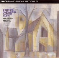 Cover image for Bach piano transcriptions. 5