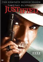 Cover image for Justified. the complete second season