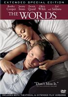 Cover image for The words