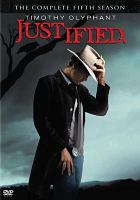 Cover image for Justified. the complete fifth season