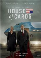 Cover image for House of cards. The complete third season.