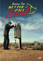 Cover image for Better call Saul. Season one