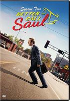 Cover image for Better call Saul. Season two