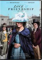 Cover image for Love & friendship