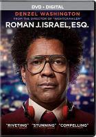 Cover image for Roman J. Israel, Esq.