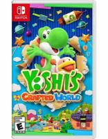 Cover image for Yoshi's crafted world.