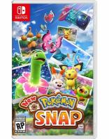 Cover image for New Pokémon snap.