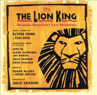 Cover image for The lion king : original Broadway cast recording.