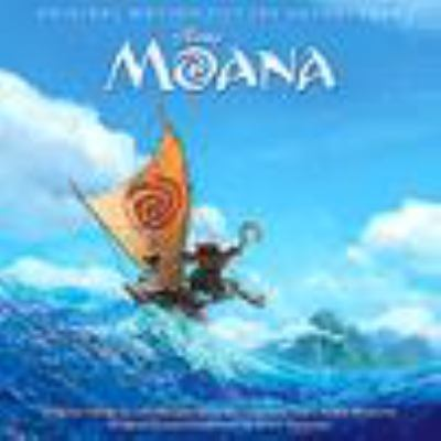 Cover image for Moana : soundtrack