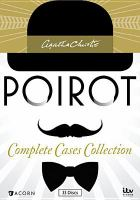 Cover image for Poirot : complete cases collection. Series 1-3