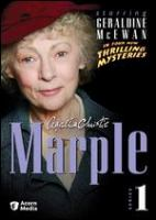 Cover image for Agatha Christie Marple. Series 1