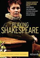 Cover image for Playing Shakespeare