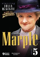 Cover image for Marple. Series 5