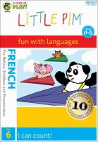 Cover image for Little Pim, fun with languages. French. Disc 6, I can count!
